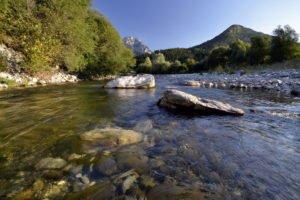 Le Chéran, au sein du massif des Bauges (© Image & Rivière)