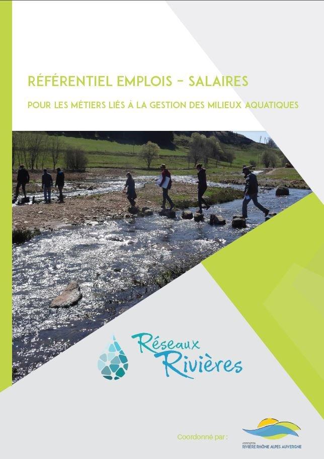 Référentiel emplois-salaires des professionnels de l'eau travaillant pour les collectivités locales