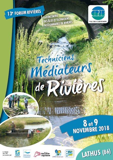 8 et 9 novembre 2018 – Forum Rivières du réseau des TMR à Lathus (86)